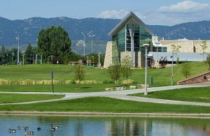 The West Lawn at Colorado State University