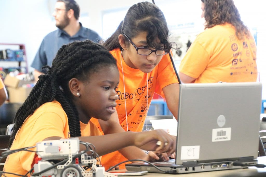 Every summer, the Florida Advanced Technological Education (ATE) Center located at Hillsborough Community College in Tampa, Florida, hosts several robotics and engineering technology camps.  Learn more about all the ATE centers, now in their 25th year and supported by the National Science Foundation, in the ATE Impacts 2018-2019 book